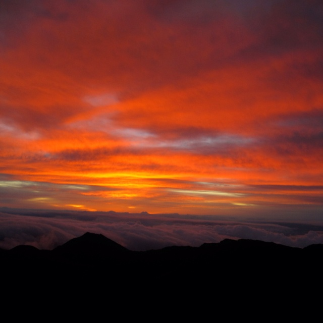Sunrise in Maui!