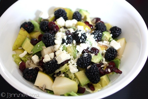 Fruit and Feta Salad | .Feed me. | Pinterest