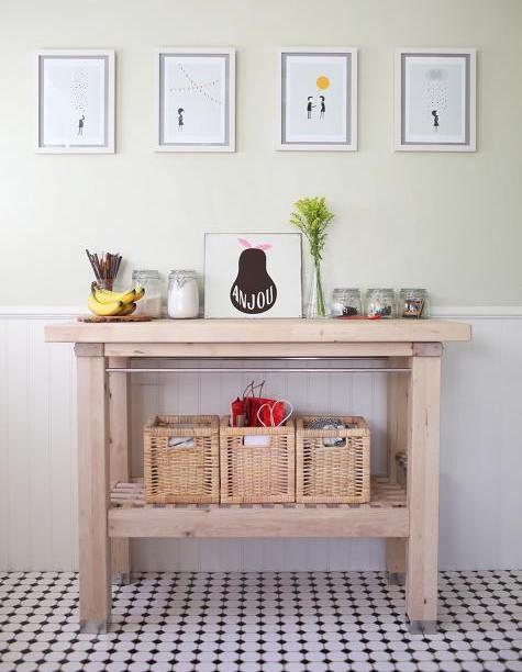 Apothekerschrank Für Küche Ikea ~ IKEA GROLAND Kitchen Island design inspiration on Fab  Products I