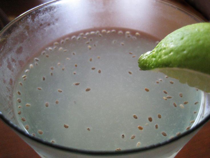 Coconut Lime Chia Fresca | Raw Drinks | Pinterest