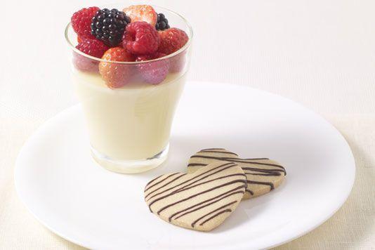 lemon posset | Delightful Desserts | Pinterest