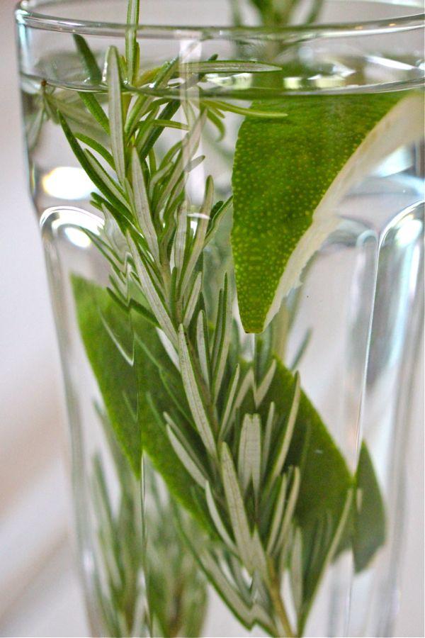Rosemary & Lime Refresher | Garden No Alcohol Drinks | Pinterest
