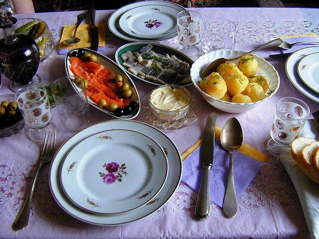 Russian Table Setting : Russian table setting  Homemaker  Pinterest