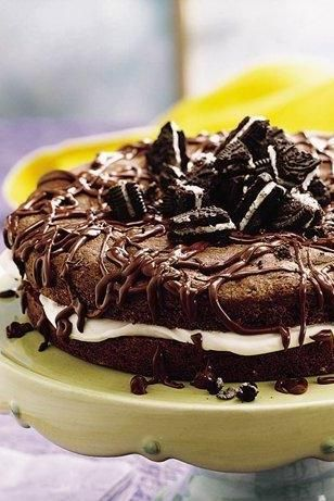 Chocolate Sandwich Cookie Cake | Recipe