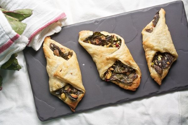 Swiss Chard Turnovers with Parmesan and Pistachios | Big Girls Small ...