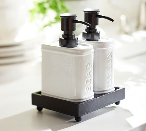 Rhodes Book Soap Lotion Caddy Kitchen Pinterest