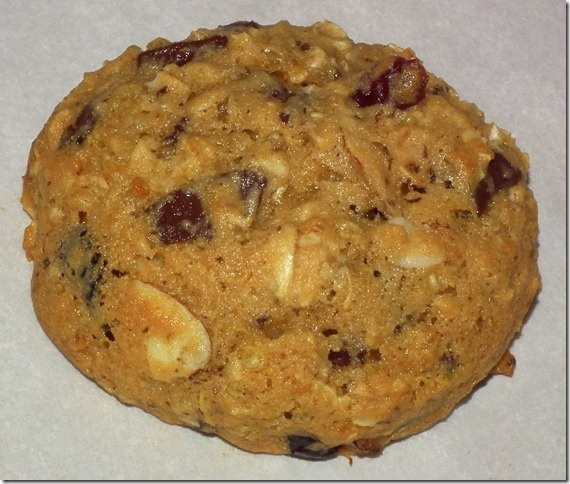 Almond Cranberry Quinoa Oatmeal Cookies 1-4-12