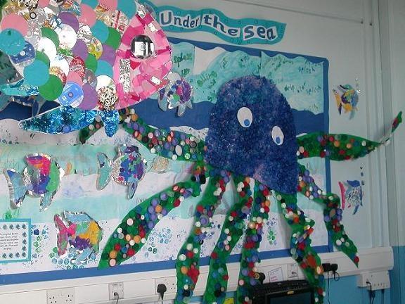 Classroom Display Ideas Under The Sea ~ Under the sea display bulletin boards pinterest