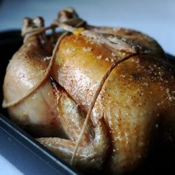 Easiest roast chicken ever. | Simple Recipes | Pinterest