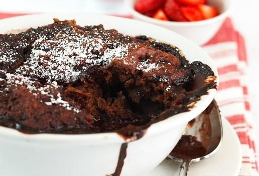 Chocolate Self Saucing Pudding | Sweets | Pinterest