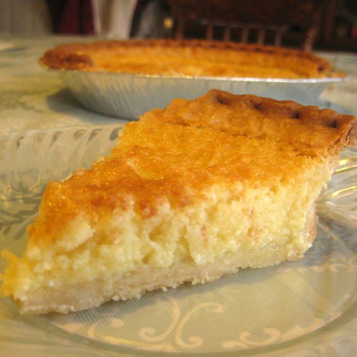 Mama's Buttermilk Pie   Sweets   Pinterest