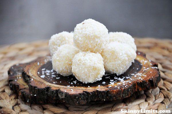 Raw Vegan Coconut Snowballs - A great no bake holiday recipe that's ...