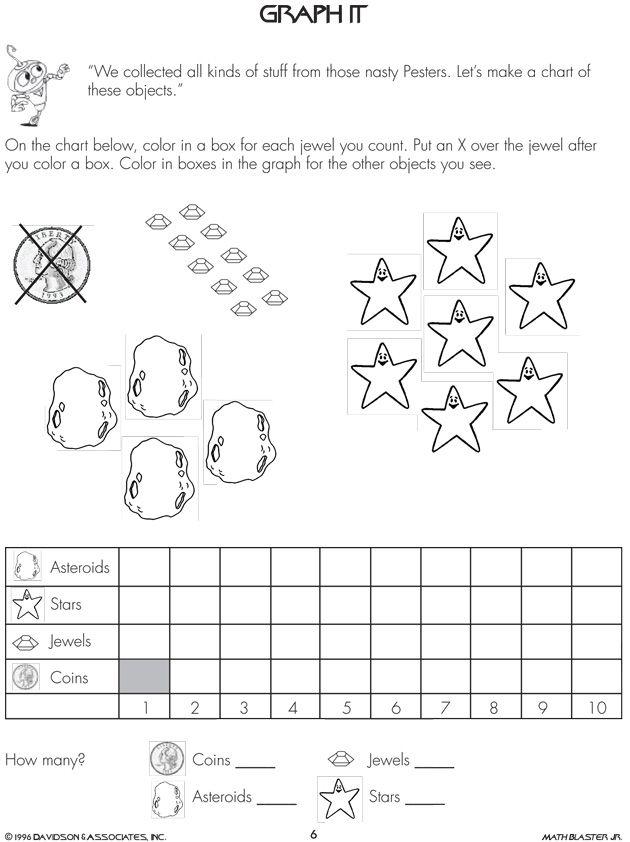 Pie graph worksheets 1st grade