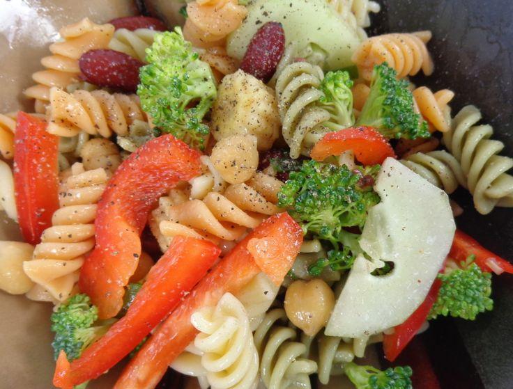 Easy Pasta Salad Recipe Salads Make Me Skinny Pinterest