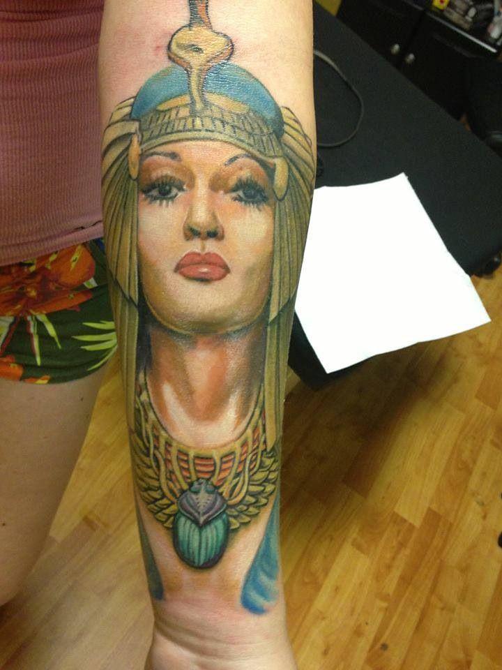 Cleopatra tattoo | Tattoos | Pinterest