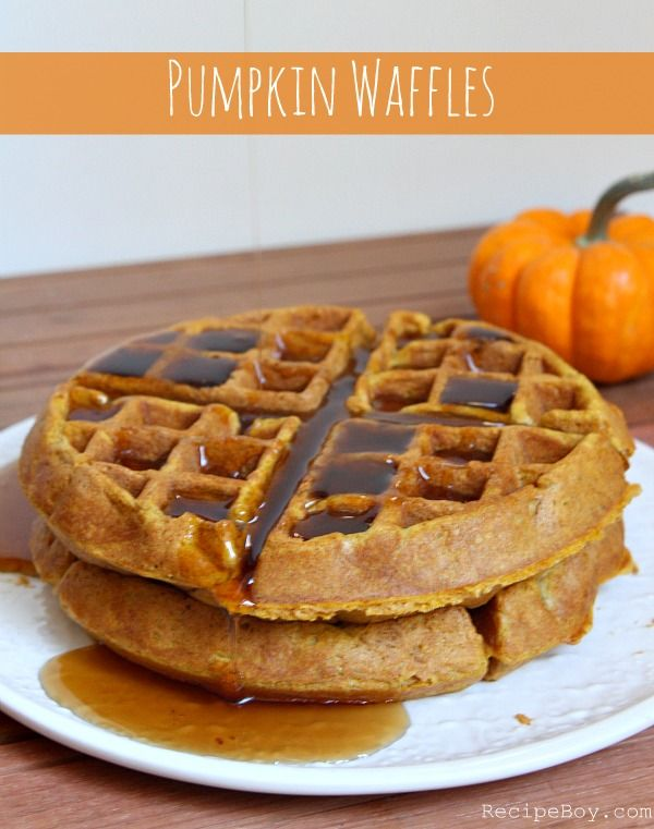 Pumpkin Waffles | Recipe