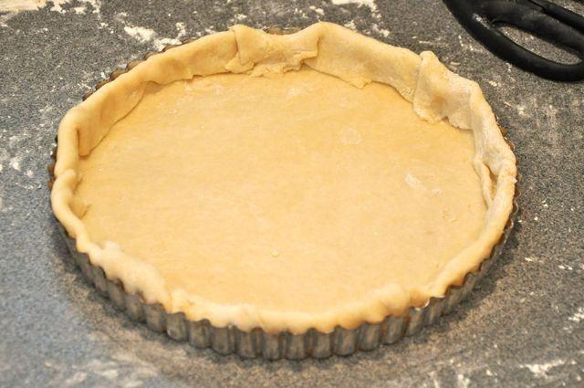 Pate Brisee in Tart Pan | pate brisee | Pinterest