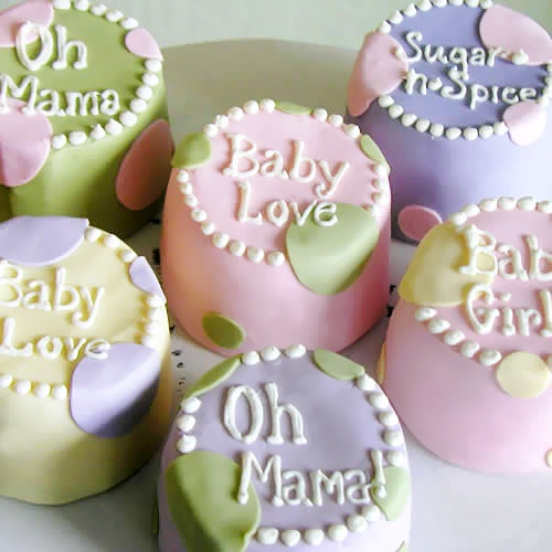 baby edible shower favors