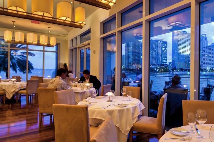 Azul Restaurant 500 Brickell Key Dr, Miami, Florida 33131 http://www ...