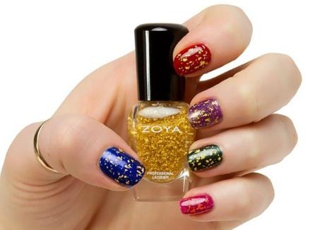 want this @zoya gold polish! | FunKy Nail Art | Pinterest