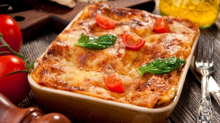 Lasagna Day! Celebrate with this Eggplant and Zucchini Lasagna ...