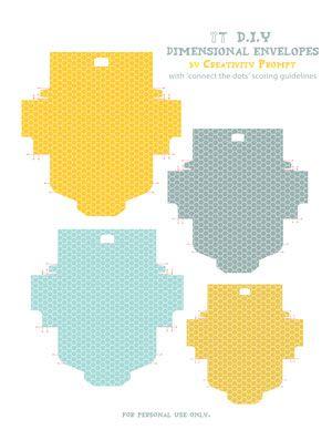 Free Printable Mini Envelopes...