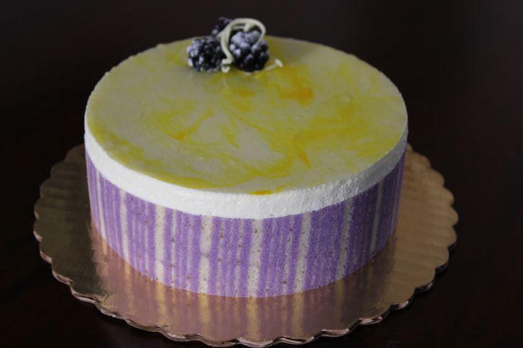 Blackberry Lemon Mouse Cake | Cakes | Pinterest