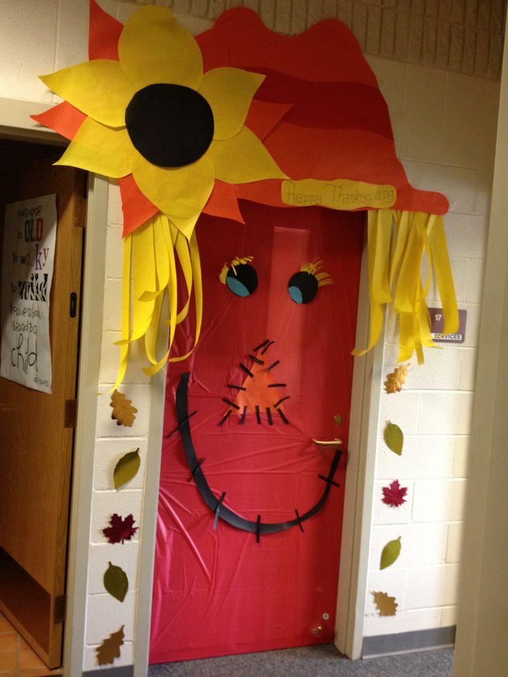 Thanksgiving Door Decoration Ideas Classroom : Thanksgiving door decor decorating pinterest
