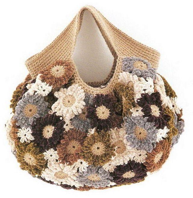 crochet bag ??????? ????? Pinterest