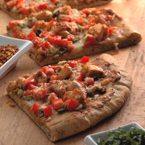 Thai Chicken Pizza | Healthy Eating Ideas for 2013 | Pinterest