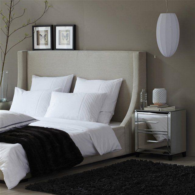 D co chambre lit capitonnee for Tete de lit confortable