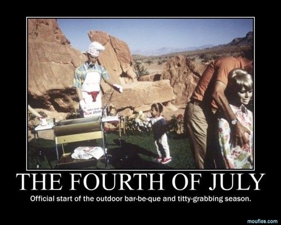 witty 4th of july captions
