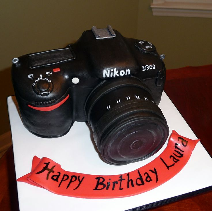 Camera Images For Cake : Nikon Camera cake {Cameras and Photography Gear} Pinterest