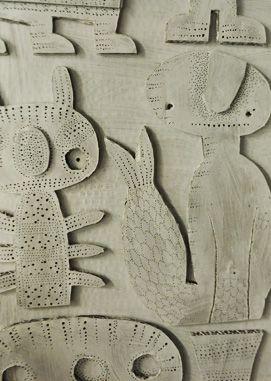 Steen Drabik - cut out paper works