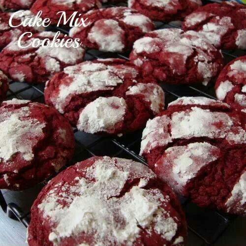 Cake mix cookies | sweet tooth / desserts | Pinterest