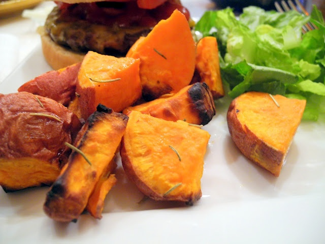 Maple Roasted Sweet Potatoes | Good Food | Pinterest