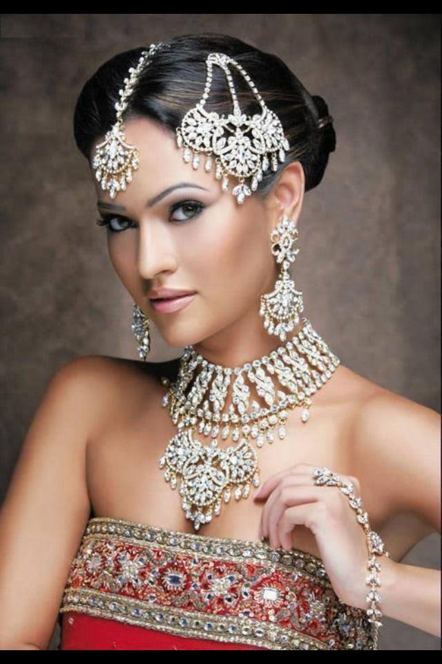 Indian wedding headdress