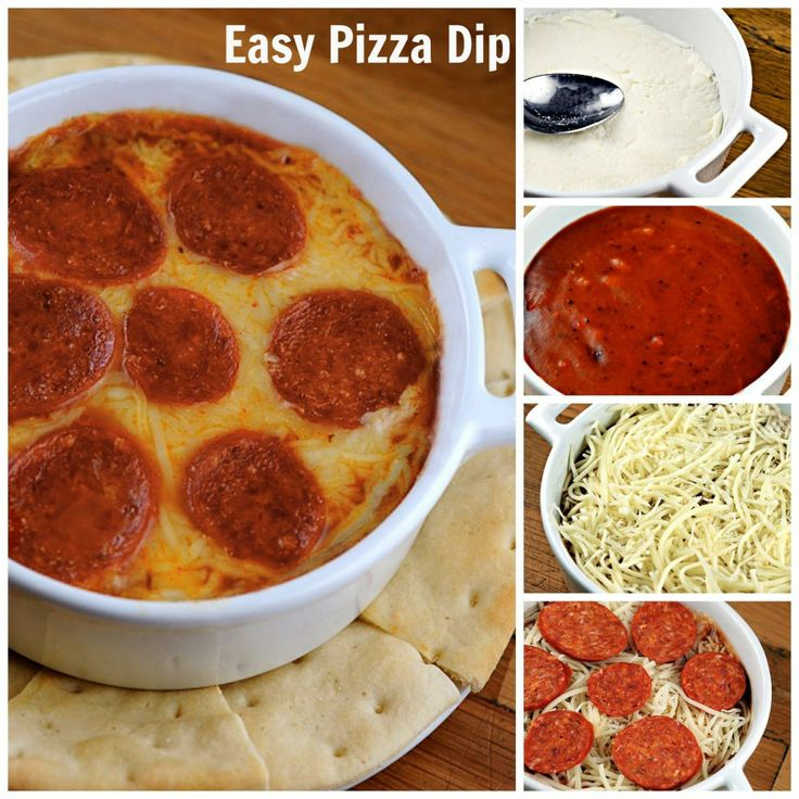 easy pizza dip | Dip & Sauce Recipes | Pinterest