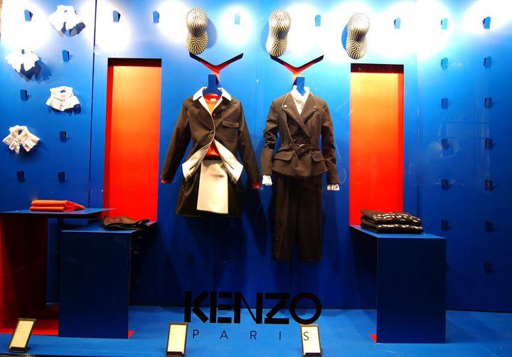 Kenzo windows Spring 2012, Paris