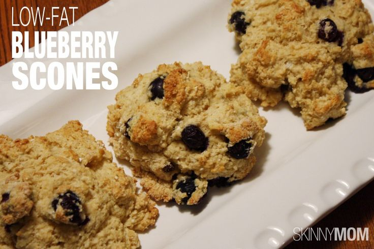 Low Fat Blueberry Scones