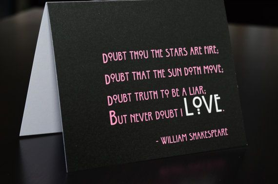 valentine card poems