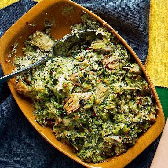Skinny Spinach Artichoke Dip #MakeoverMeal