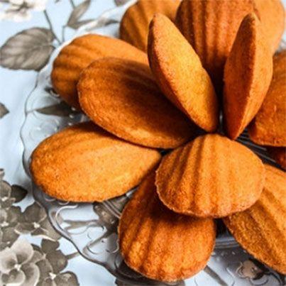 Honey and Vanilla Madeleines | Cookies | Pinterest