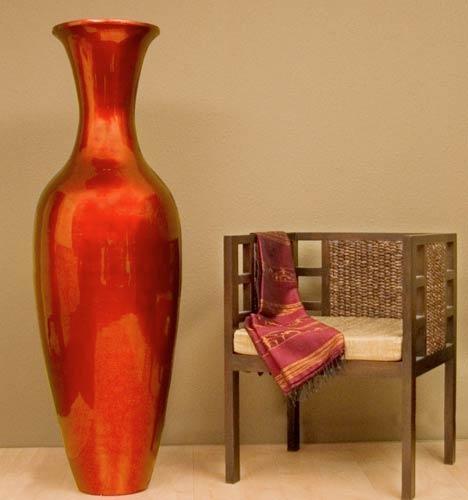 Mahogany Red Large Floor Vase 595 Home Decor Pinterest