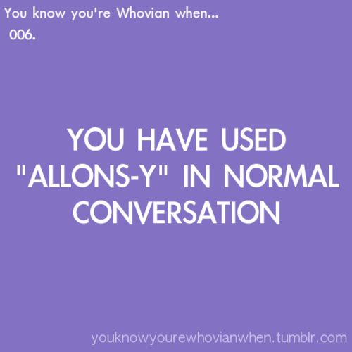 All the time!!! {X