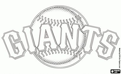 San francisco giants logo coloring pages sketch coloring page for San francisco giants coloring pages