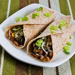 Slow Cooker Recipe for Spicy Vegetarian Pinto Bean and Chard Burritos ...