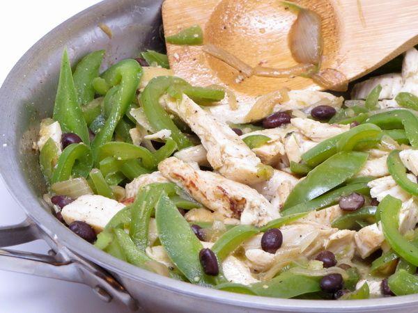 Chicken Fajita Quesadillas from 400 calories or less
