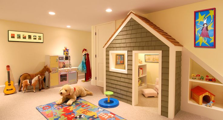 Cool basement playroom basement pinterest - Cool basement ideas for kids ...