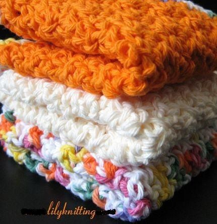 Crochet Dishcloth Easy Pattern | Crochet Guild